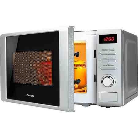 hanseatic Mikrowelle, mit Grill, 20 Liter Garraum, 700 Watt