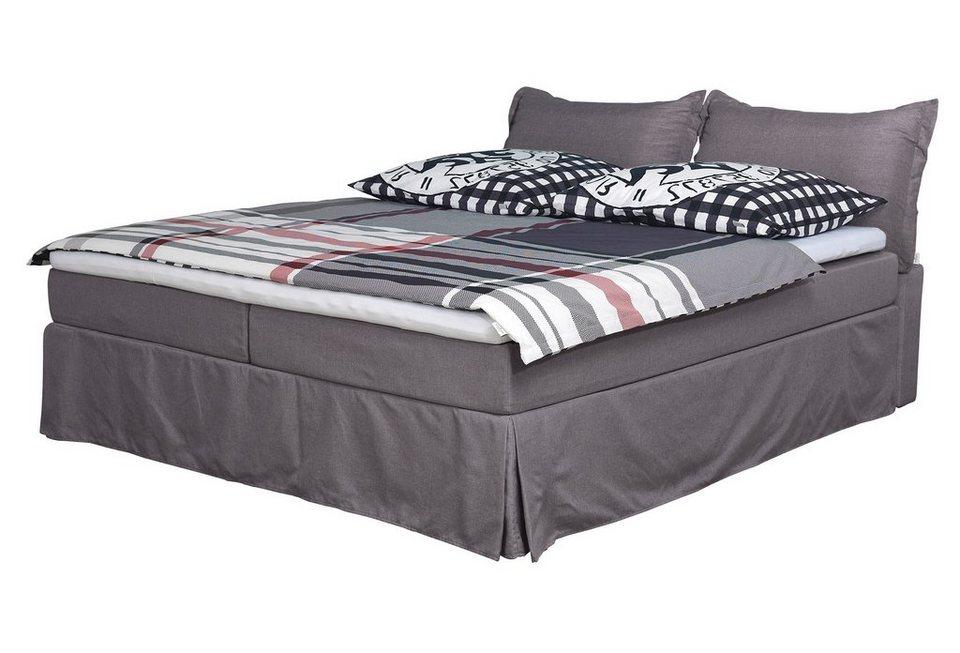 tom tailor boxspringbett in hussenoptik cushion box web. Black Bedroom Furniture Sets. Home Design Ideas