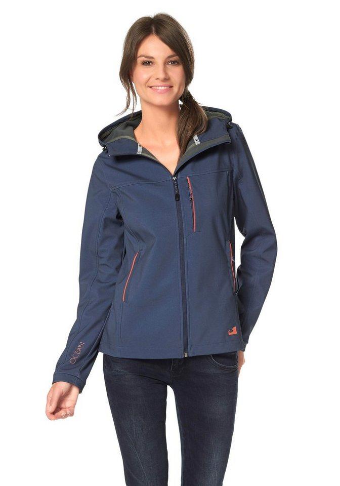Ocean Sportswear Softshelljacke in blau