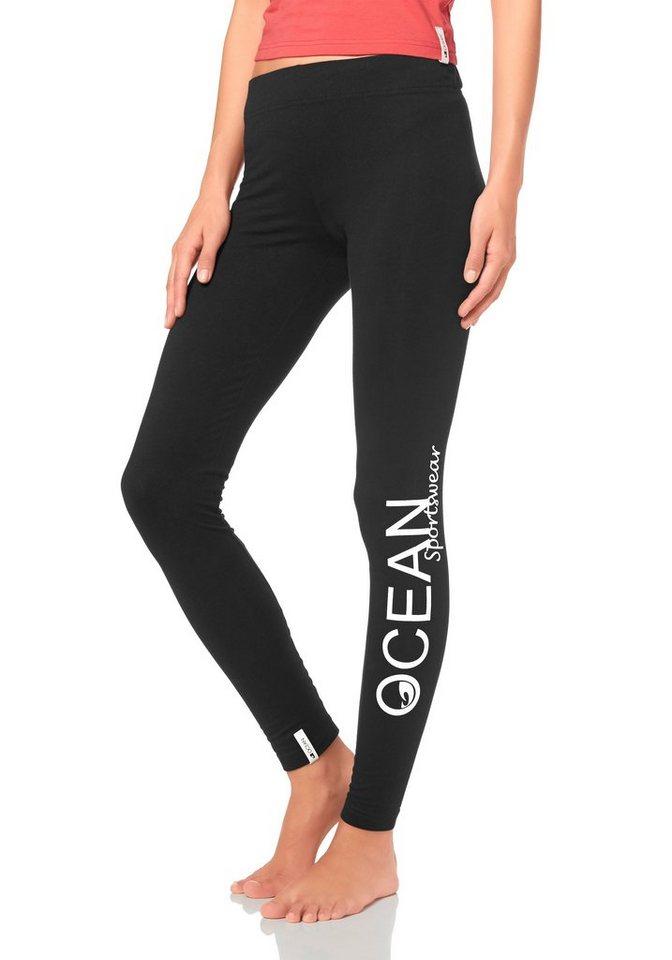 Ocean Sportswear Leggings in schwarz