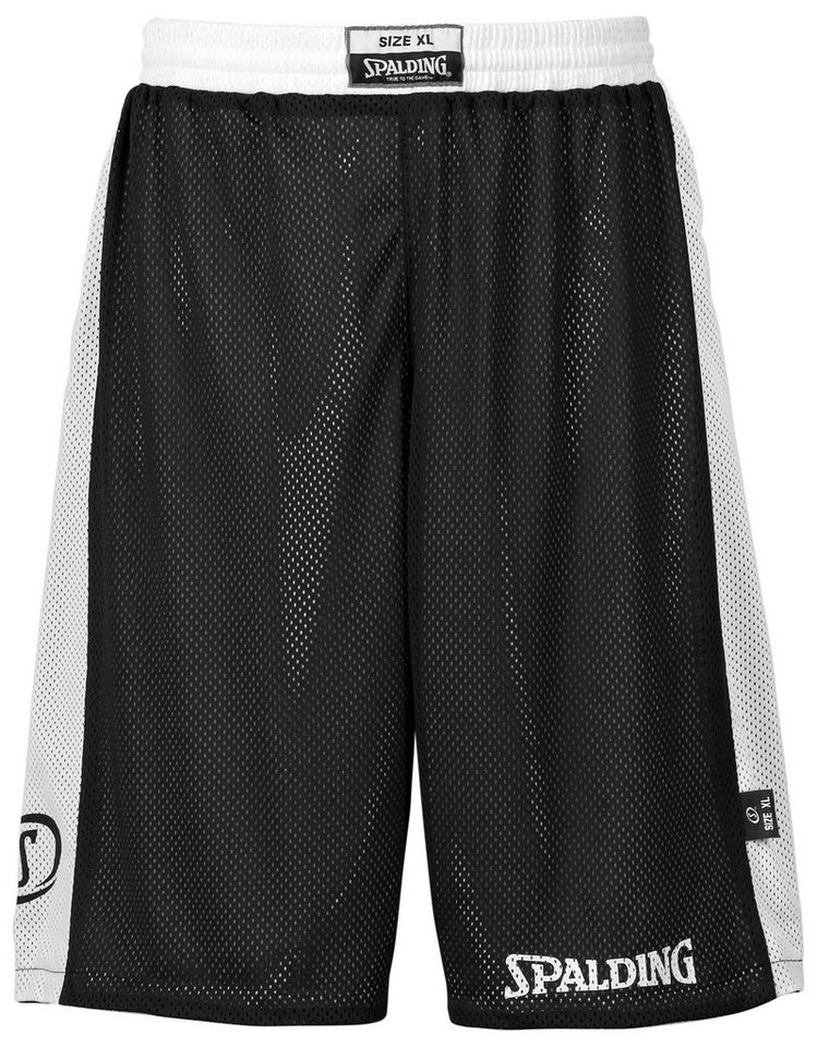 SPALDING Essential Reversible Shorts Herren in schwarz / weiß