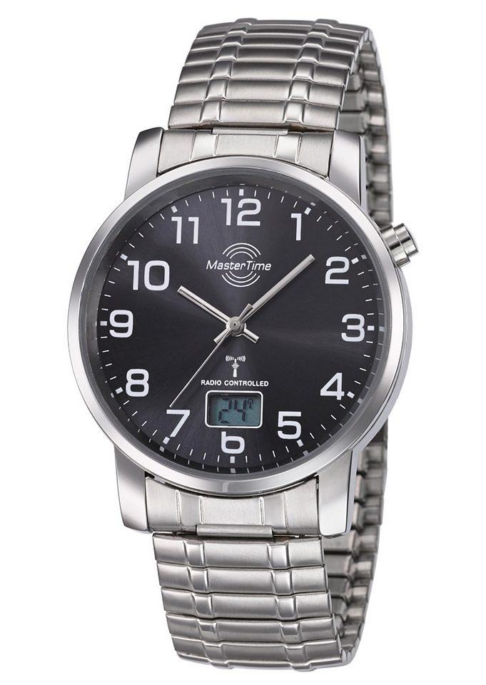 MASTER TIME Funkuhr »MTGA-10308-22M«