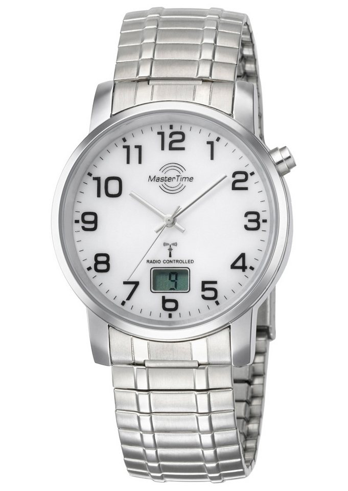 MASTER TIME Funkuhr »MTGA-10306-12M« Mit Langzeitbatterie | Uhren > Funkuhren | MASTER TIME