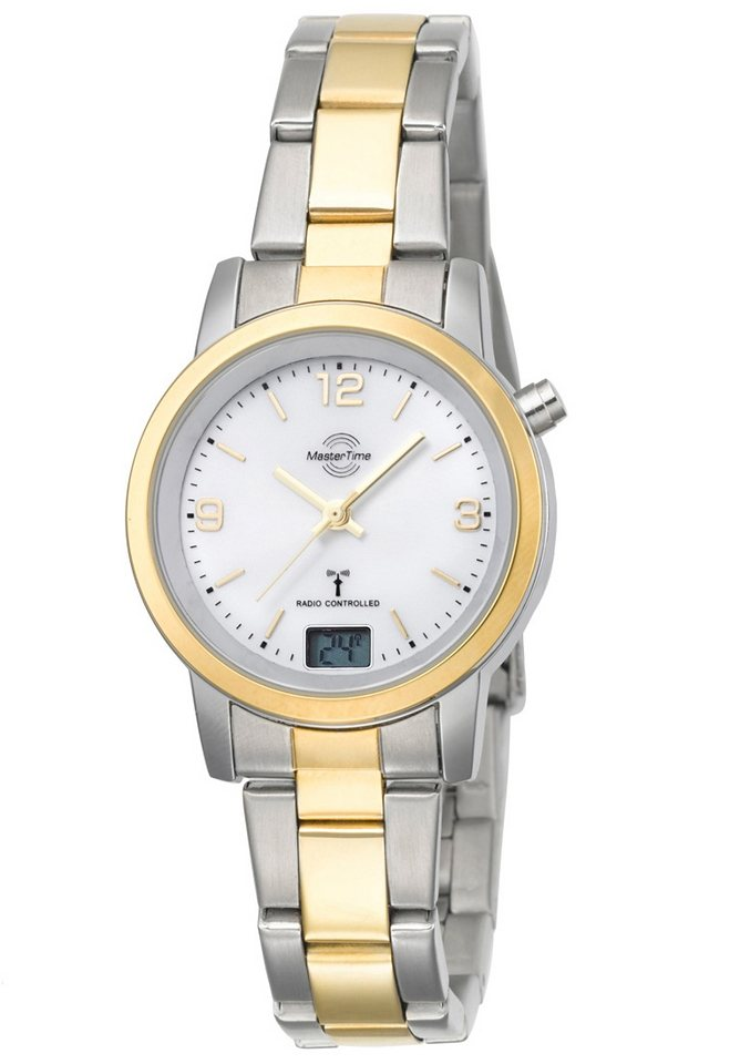 MASTER TIME Funkuhr »MTLA-10305-12M« mit Langzeitbatterie | Uhren > Funkuhren | MASTER TIME