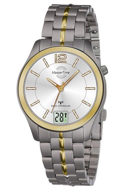 MASTER TIME Funkuhr »MTLT-10354-42M«, mit Langzeitbatterie | Uhren > Funkuhren | MASTER TIME