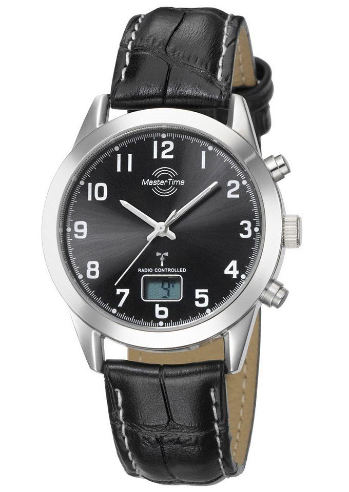 "Master Time, Funkarmbanduhr, ""MTGS-10322-22L"" in schwarz"