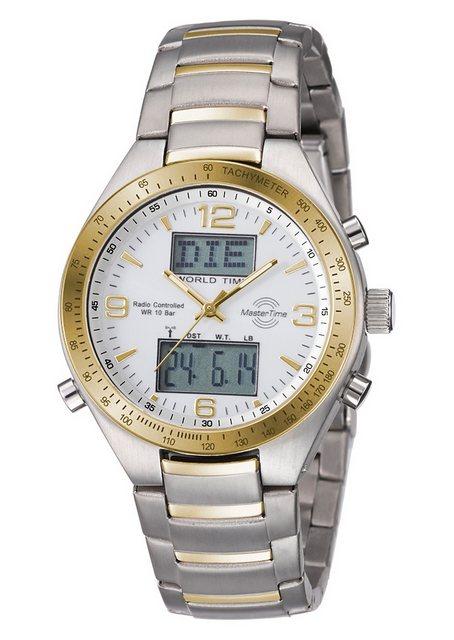 MASTER TIME Funkchronograph »MTGS-10330-12M« mit Langzeitbatterie   Uhren   MASTER TIME