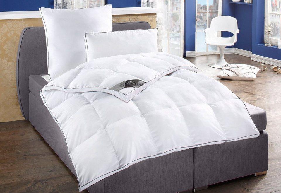 set kunstfaserbettdecken kopfkissen hanse by ribeco extrawarm online kaufen otto. Black Bedroom Furniture Sets. Home Design Ideas