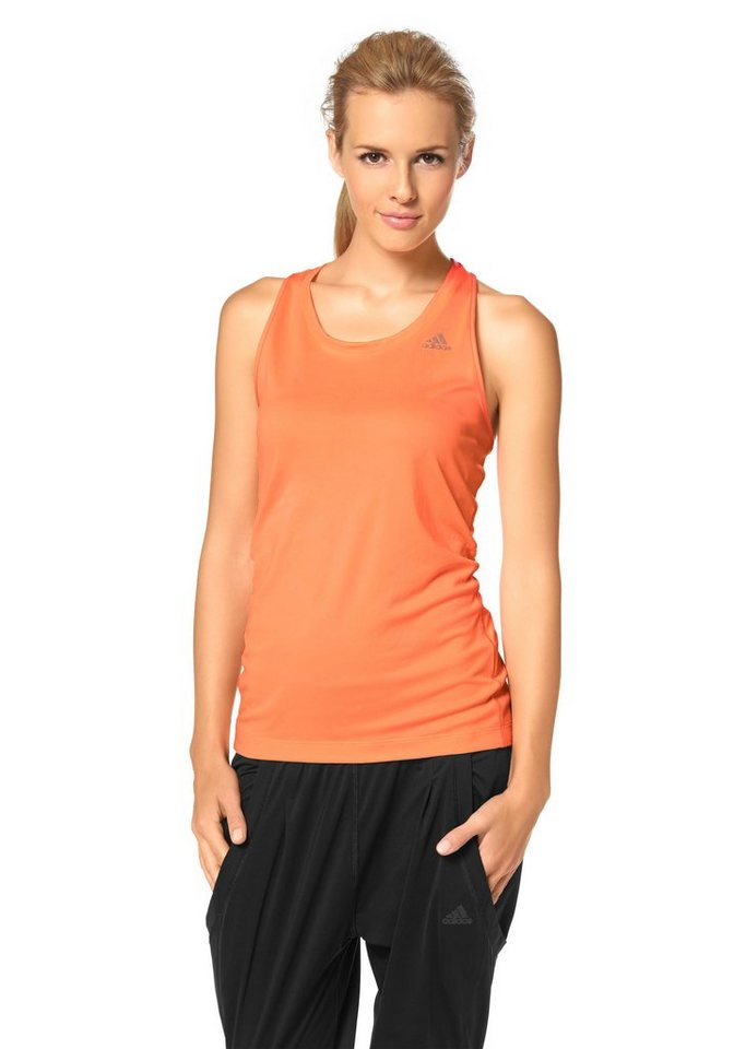 adidas Performance Funktions-Tanktop in Apricot