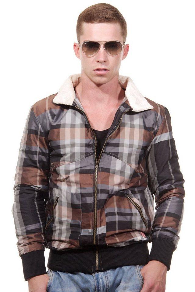CATCH Blouson slim fit in grau/rost