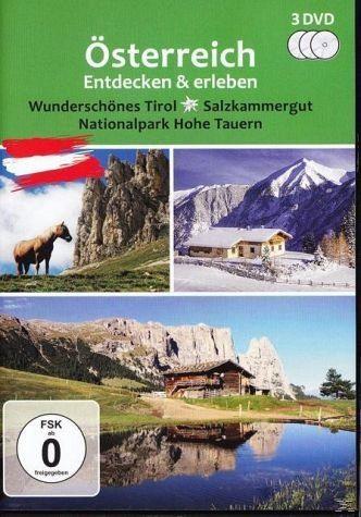 DVD »Österreich entdecken und erleben (3 Discs)«