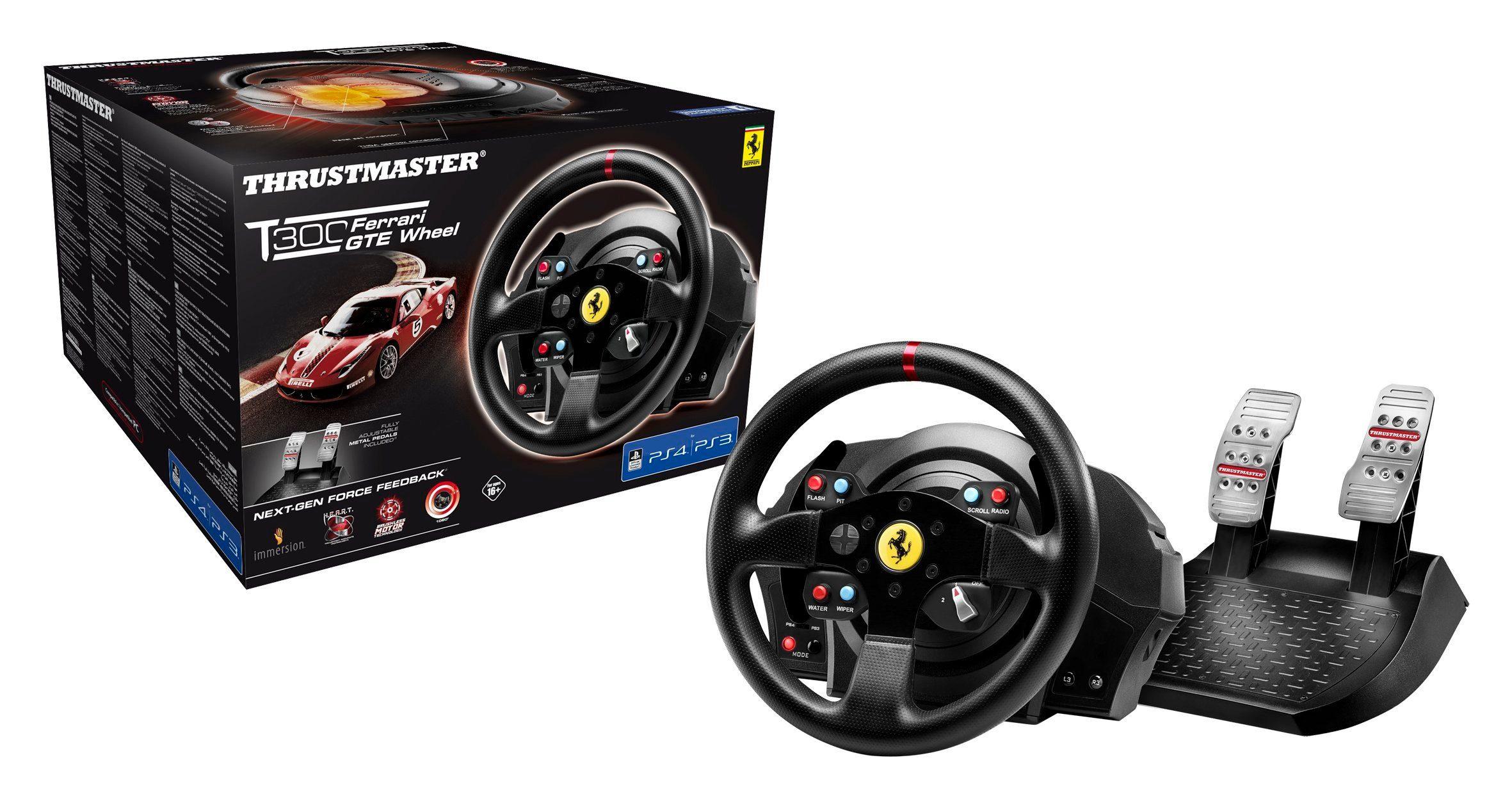 Thrustmaster Lenkrad T300 Ferrari GTE Wheel »(PS4 PC PS3)«