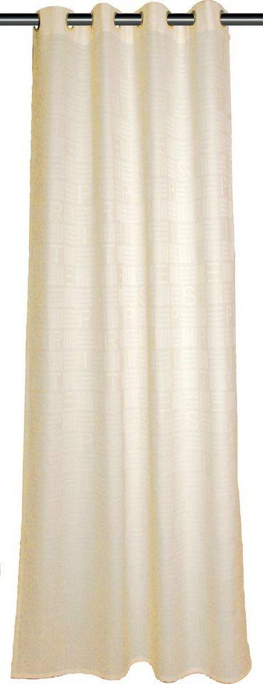 Vorhang, Esprit, »Step« (1er Pack) in offwhite