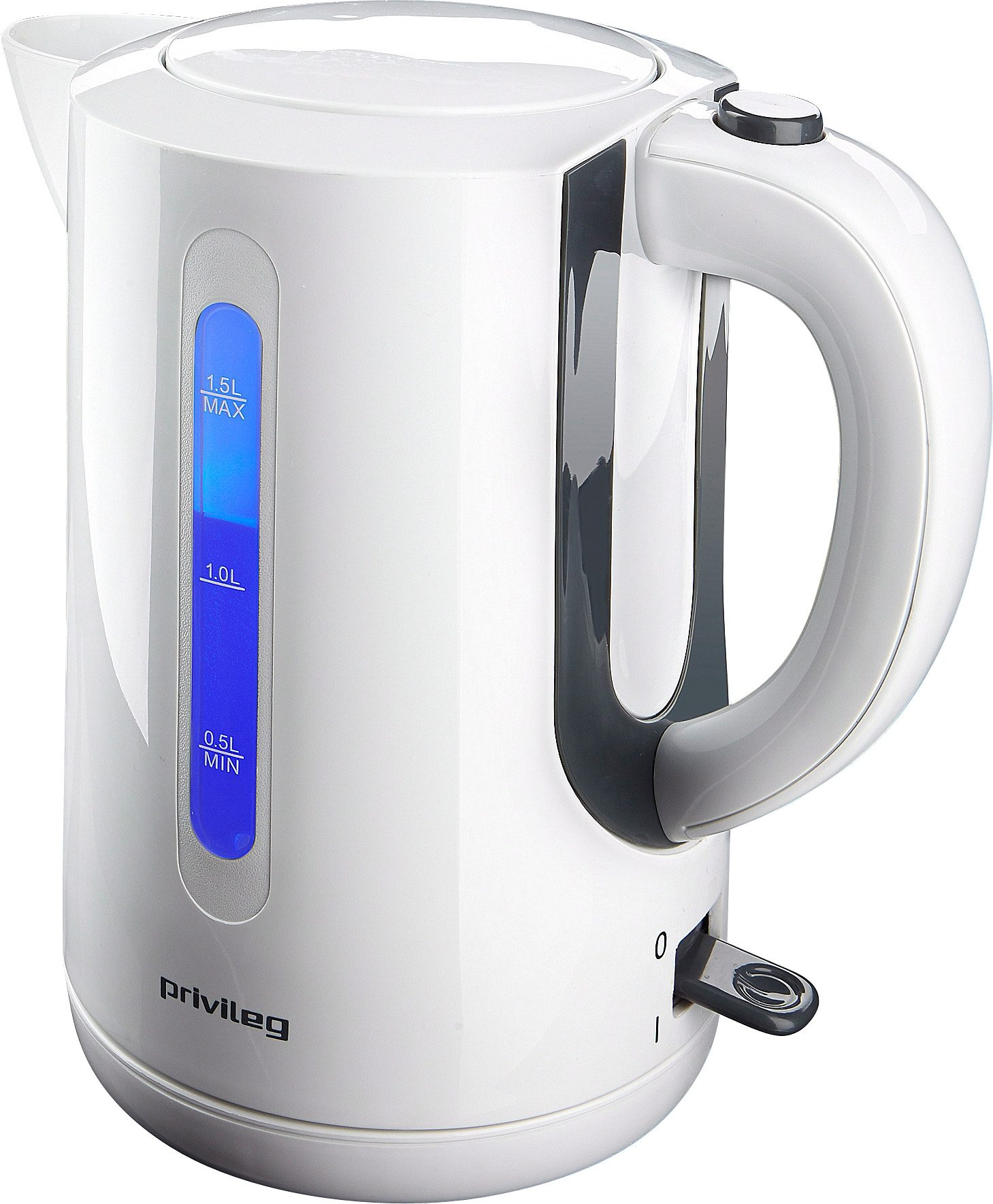 privileg Wasserkocher, 1,5 Liter, 2200 Watt
