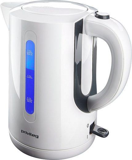 Privileg Wasserkocher KE7121, 1,5 l, 2200 W