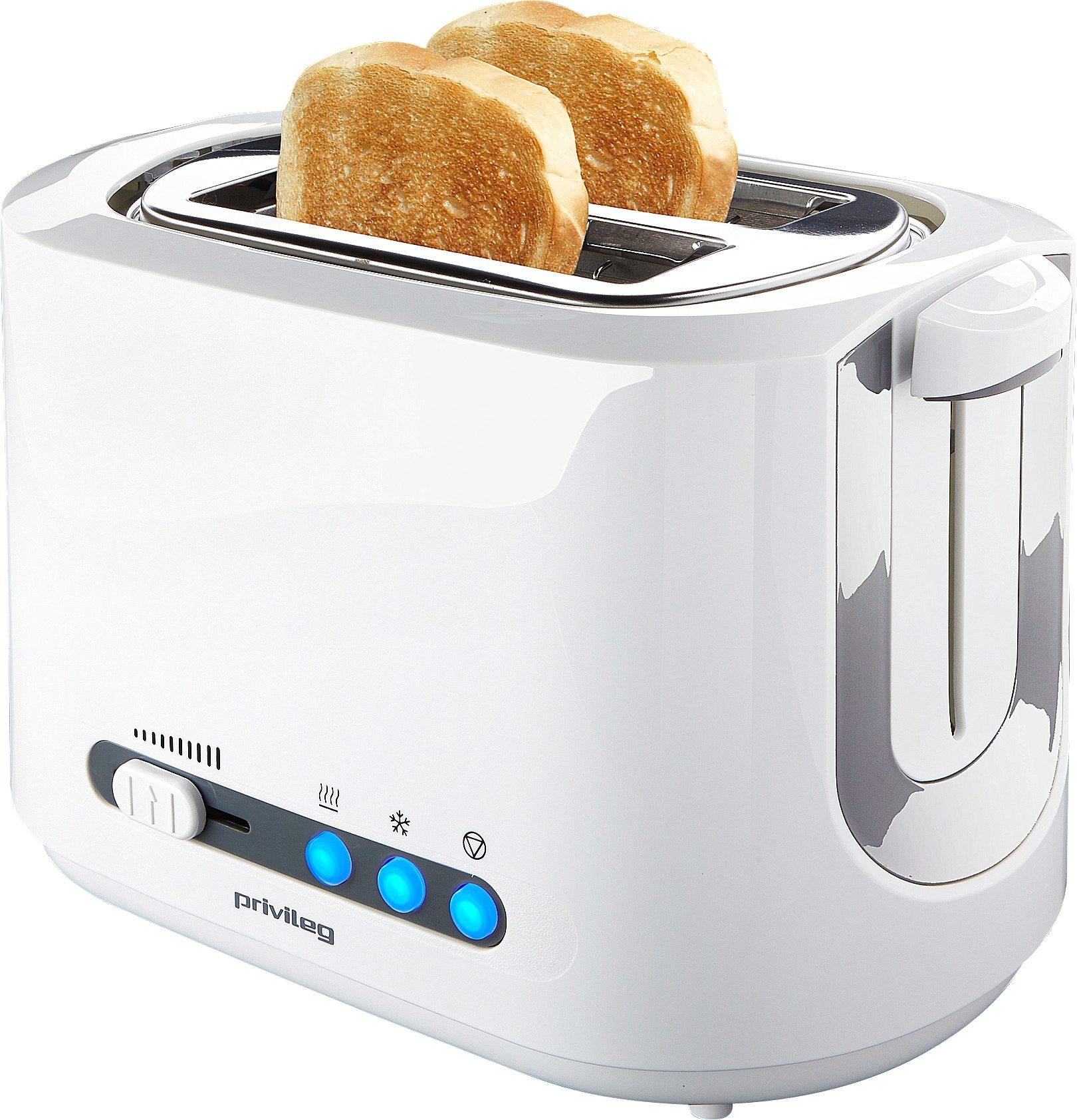privileg Toaster, für 2 Scheiben, max. 850 Watt