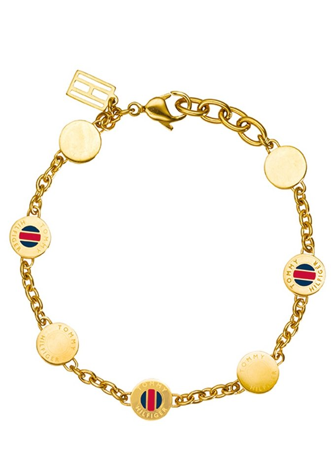 Armband, »Classic Signature, 2700472«, TOMMY HILFIGER in goldfarben