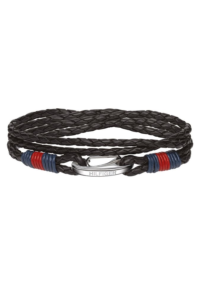 Armband, »Mens´s Casual, 2700534«, Tommy Hilfiger Jewelry in schwarz