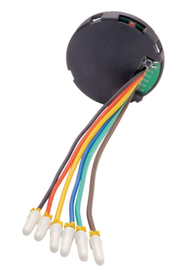 eQ-3 Unterputzsender »Funk-Schalterschnittstelle 3-fach,Unterputzmontage« in Schwarz