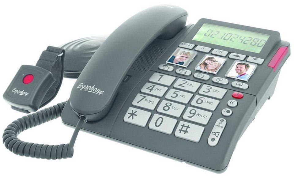 Tiptel Telefon »Ergophone 1210« in Schwarz
