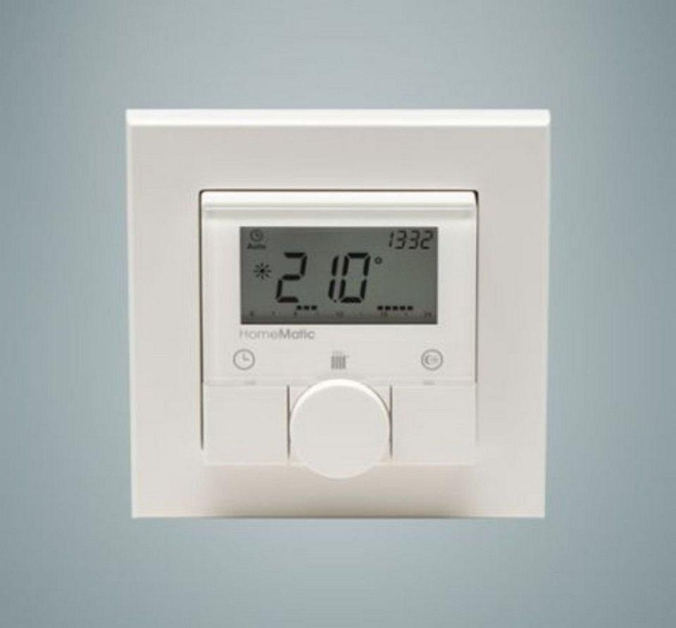 eQ-3 Thermostat »Funk-Wandthermostat, AP 55mm Rahmen« in Weiß