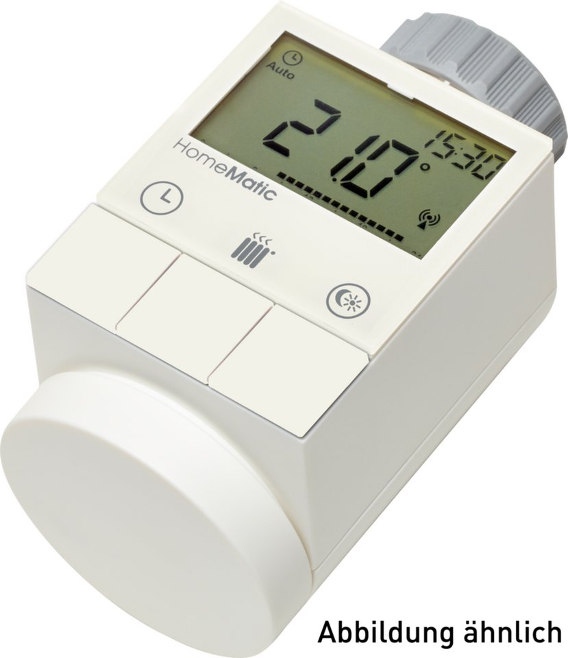 eQ-3 Smart Home Zubehör »Funk-Heizkörperstellantrieb« in Weiß