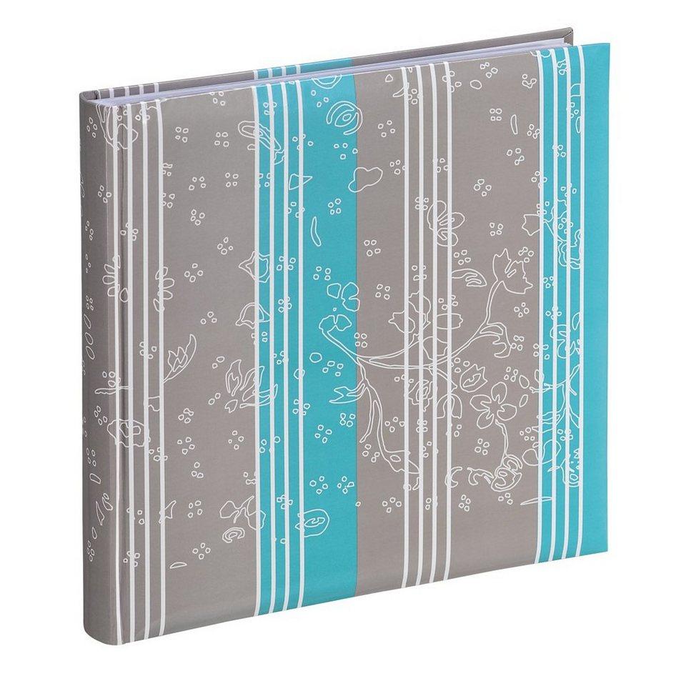 Hama XL-Album Curly, 30x30 cm, 60 weiße Seiten, Breeze in Grau