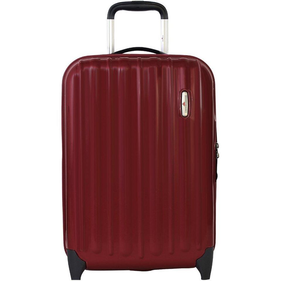 Hardware Profile Plus Kabinen-Trolley 2-Rollen 55 cm in metallic red shiny