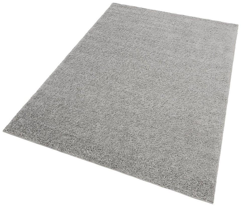 Hochflor-Teppich, my home, »Bodrum«, Höhe 30 mm, gewebt in grau