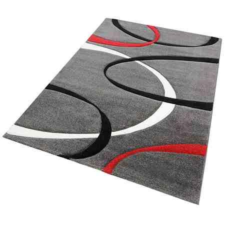 Teppich, my Home, »Bilbao«, handgearbeiteter Konturenschnitt, Hoch-Tief-Struktur