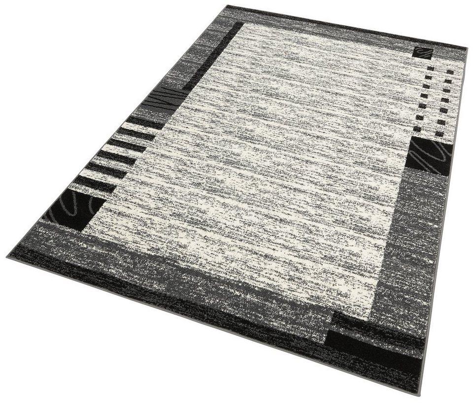 Teppich, my home, »Jonas«, Melange-Effekt, gewebt in grau