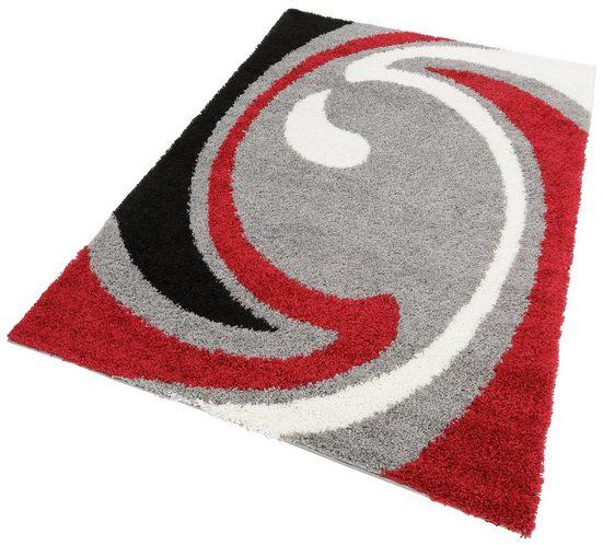 Hochflor-Teppich »Tarragona«, my home, rechteckig, Höhe 30 mm, Wohnzimmer