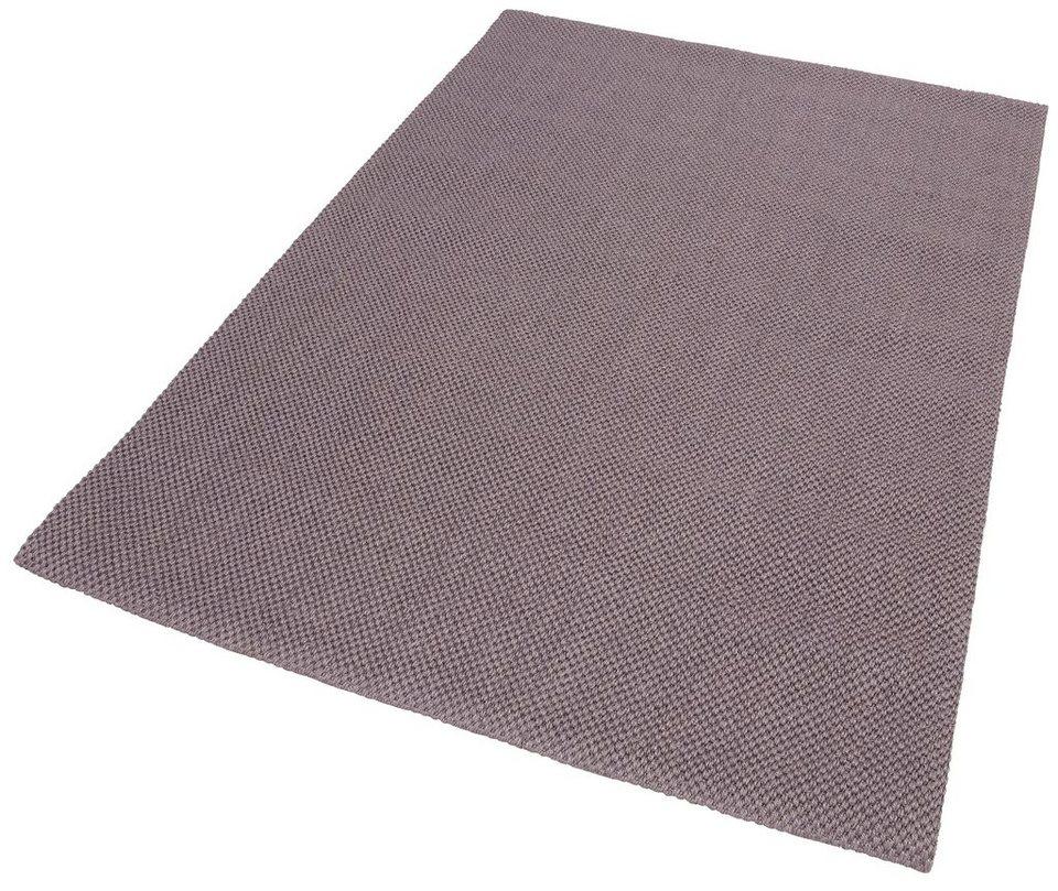 Sisal-Teppich, my home, »Monza«, gewebt in Lavendel