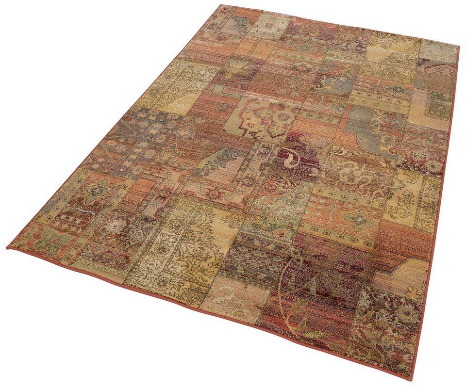 Orient-Teppich, Oriental Weavers, »Idfu«, Melange-Effekt, gewebt in gold