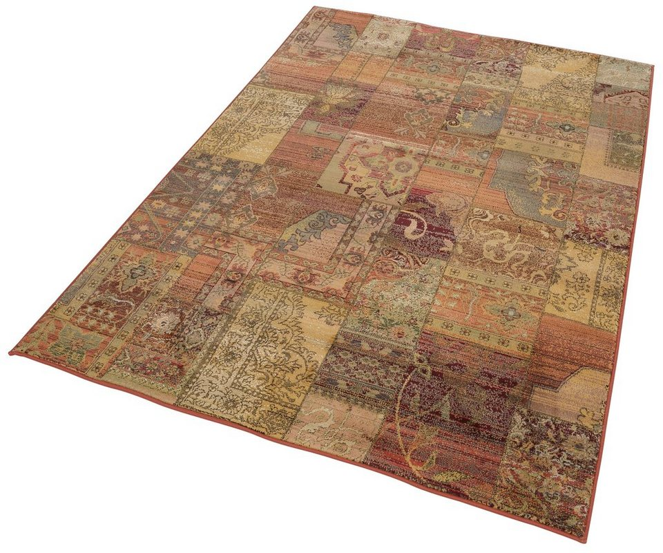 Orient-Teppich, Oriental Weavers, »Idfu«, Melange-Effekt, gewebt in goldfarben