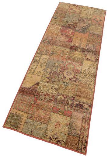 Läufer »Idfu«, Oriental Weavers, rechteckig, Höhe 8 mm, Teppich-Läufer, gewebt, Patchwork Design, Orient-Optik