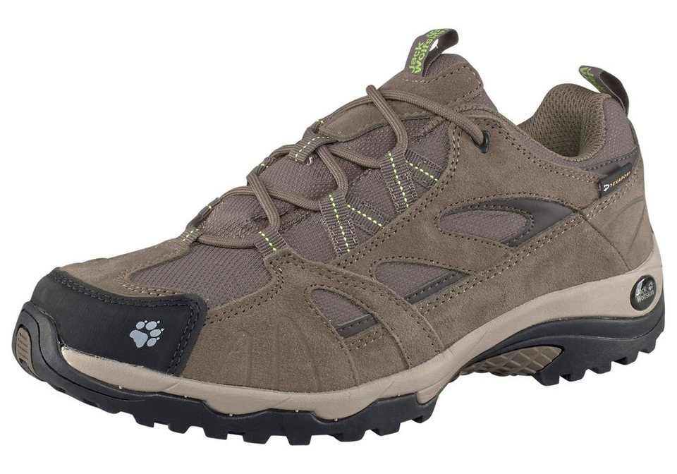 Jack Wolfskin »Vojo Hike Texapore Women« Outdoorschuh in braun-limette