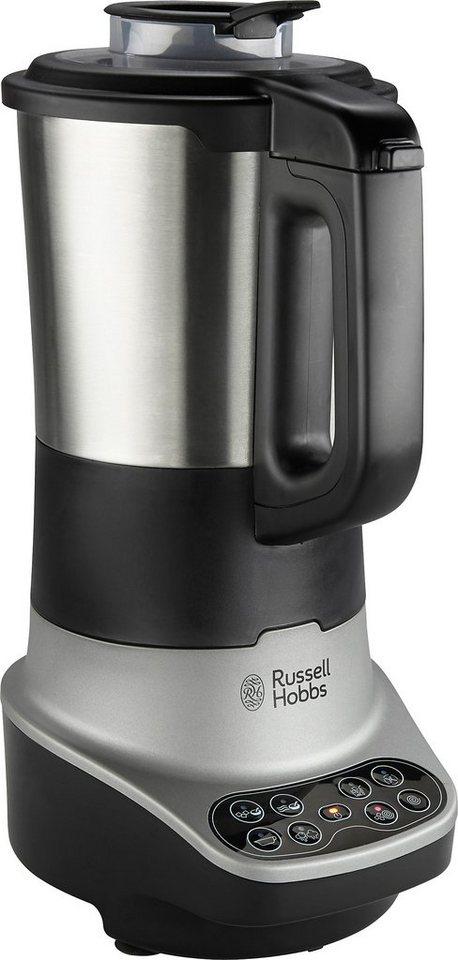 Standmixer mit Kochfunktion 21480-56, 400 Watt, 8 Programme in schwarz/silber