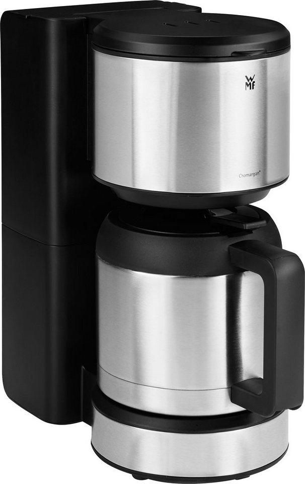 WMF Kaffeemaschine Stelio Thermo, 34,5 cm Höhe, 15,5 cm Breite in silberfarben
