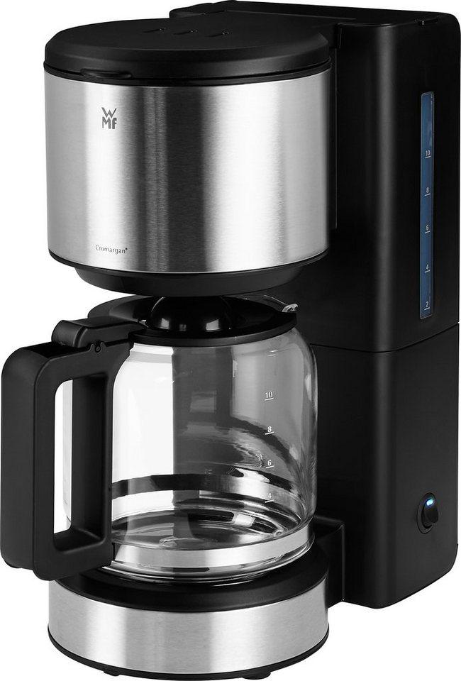 WMF Kaffeemaschine Stelio Glas, 34,5 cm Höhe, 15,5 cm Breite in schwarz