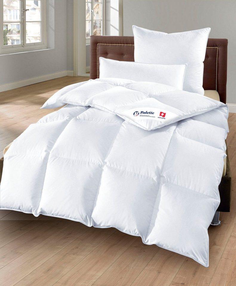 set daunenbettdecken kopfkissen balette warm 90 daunen 10 federn online kaufen otto. Black Bedroom Furniture Sets. Home Design Ideas