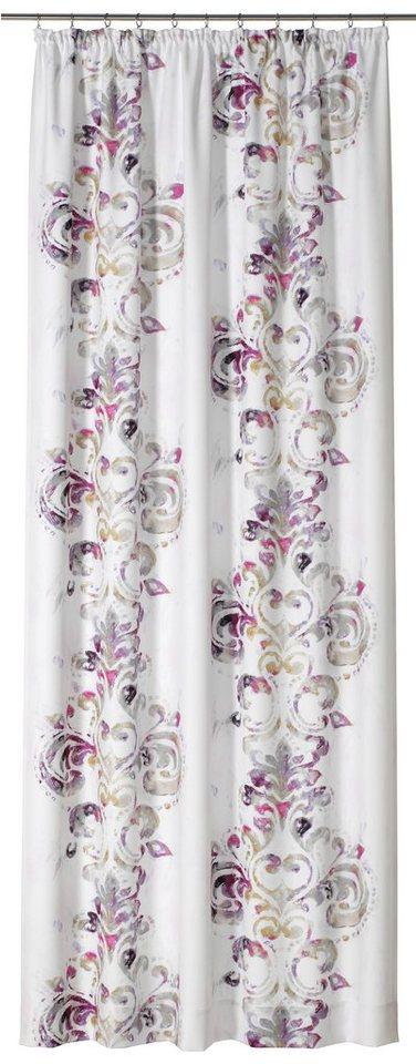 Vorhang, Gardisette, »Mala« (1 Stück) in lila