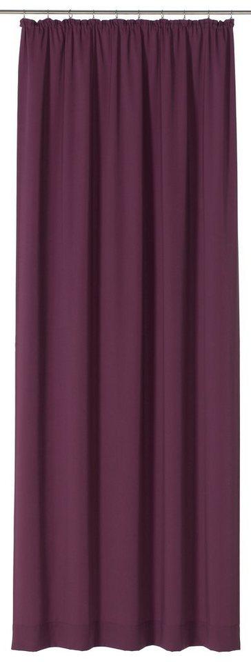 Vorhang, Gardisette, »Greg « (1 Stück) in lila