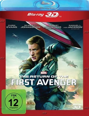 Blu-ray »The Return Of The First Avenger 3D«