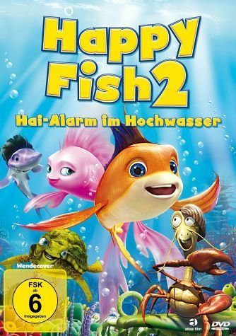 DVD »Happy Fish 2 - Hai-Alarm im Hochwasser«