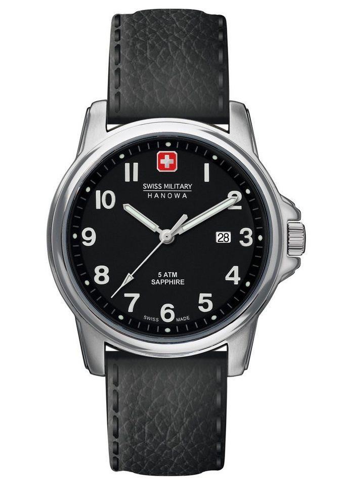 "Swiss Military Hanowa, Armbanduhr, ""SWISS SOLDIER PRIME, 6-4231.04.007"" in schwarz"