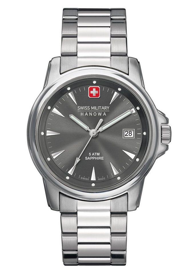 Swiss Military Hanowa Schweizer Uhr »SWISS RECRUIT PRIME, 6-5044.1.04.009« | Uhren > Schweizer Uhren | Swiss Military Hanowa