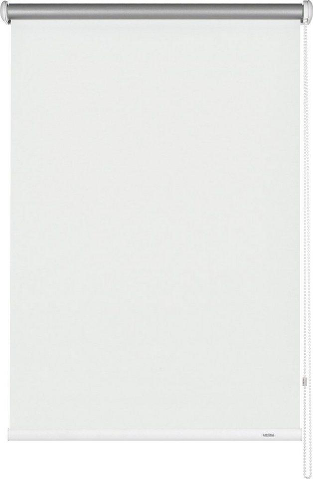 Seitenzugrollo, Gardinia, »Seitenzugrollo im Fixmaß«, Verdunkelung/Energiesparend (1 Stck.) in weiß
