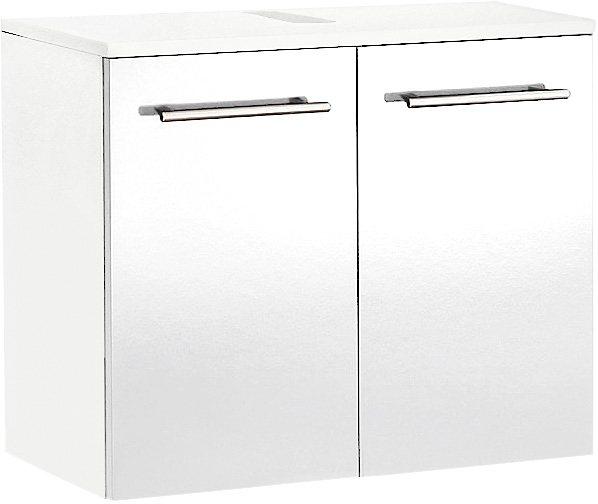 Waschbeckenunterschrank, Kesper, »Treviso« in weiß-weiß