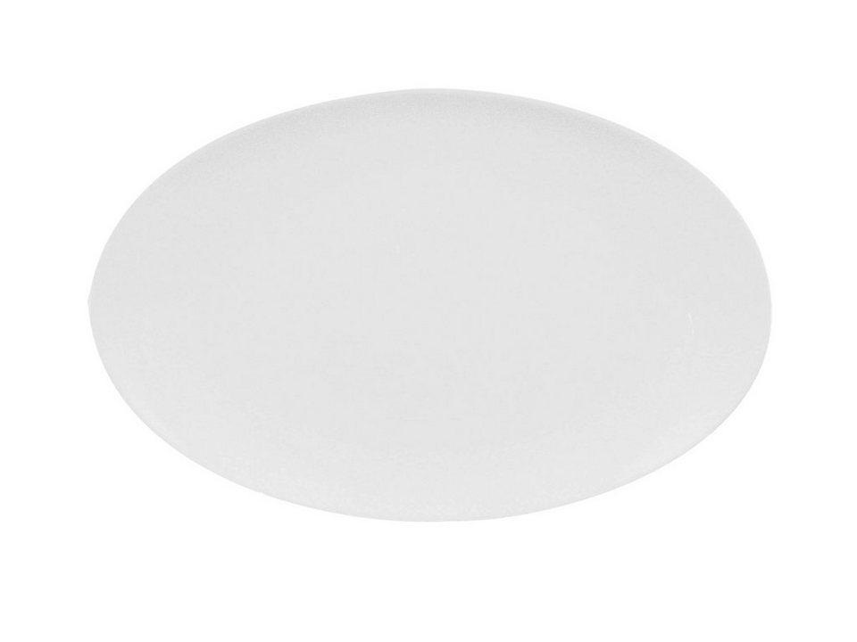 Eschenbach Platte coup, oval »Universo« in Weiß